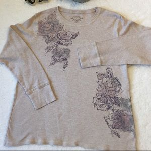 Sonoma Life + Style Floral Top